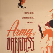 Army Of Darkness MONDO 24×36 inch Movie Poster Variant Edition Tom Whalen Evil Dead (2014)