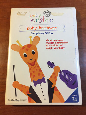 The Walt Disney Company Baby Einstein Baby Beethoven: Symphony of Fun DVD