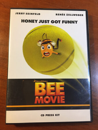 DreamWorks Bee Movie CD Press Kit with Production Notes Booklet Jerry Seinfeld (2007)