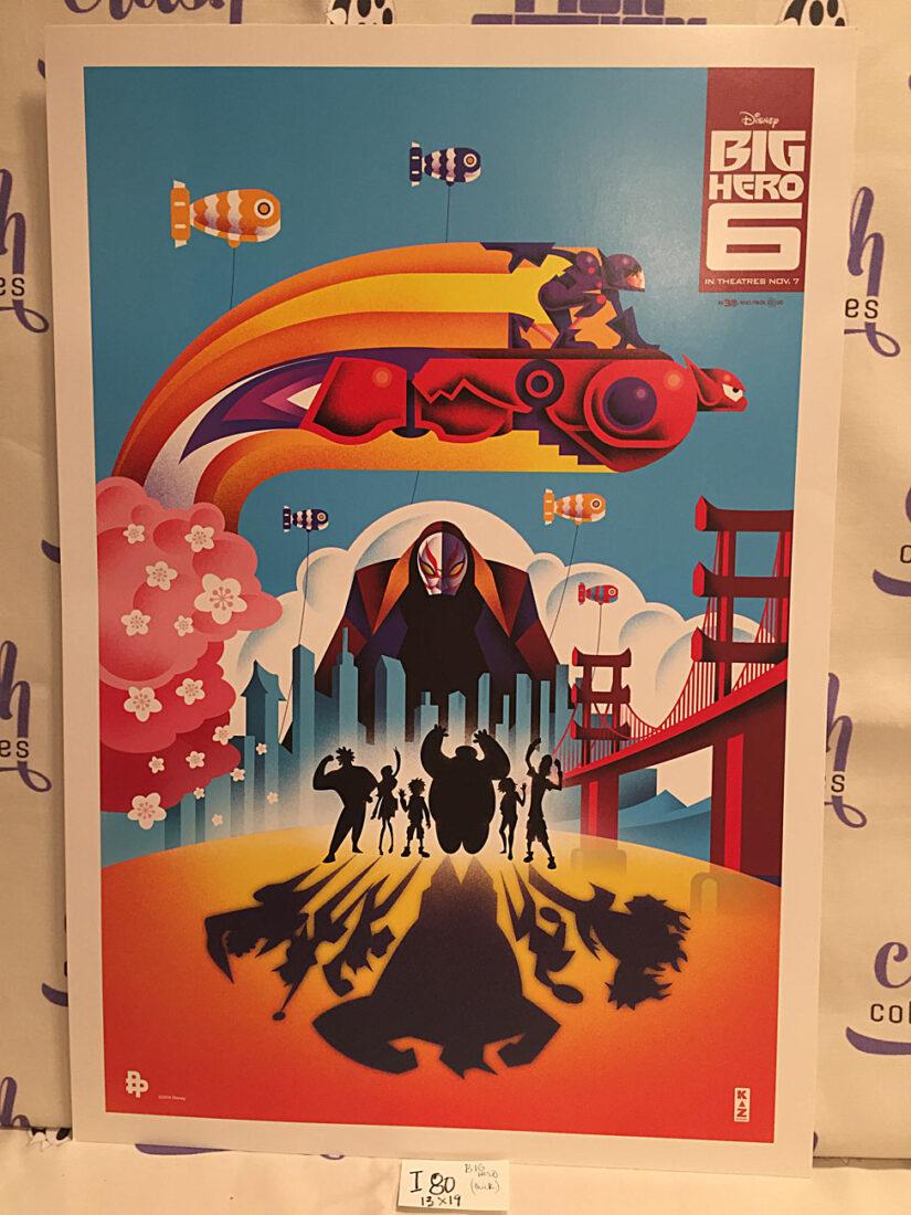 Big Hero 6 Original 13 x 19 inch Card Stock Promotional Movie Poster Print (2014) [I80]