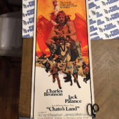 Chato's Land 14×36 inch Original Insert Movie Poster (1972) Charles Bronson [C85]