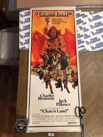 Chato's Land 14×36 inch Original Insert Movie Poster (1972) Charles Bronson [C85]
