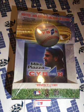 Mike Piazza Cybercard Interactive CD Card Series 1 Los Angeles Dodgers [1271]