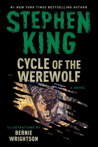 Stephen King's Cycle of the Werewolf: A Novel Paperback Illustrated by Bernie Wrightson