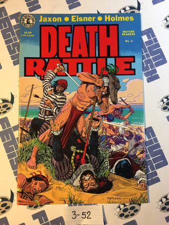Death Rattle No. 2 Comics Magazine (December 1985) Will Eisner, Kitchen Sink Press [352]