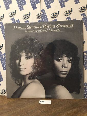 Donna Summer and Barbra Streisand No More Tears (Enough Is Enough) 12 inch Vinyl Single (1979) [E41]