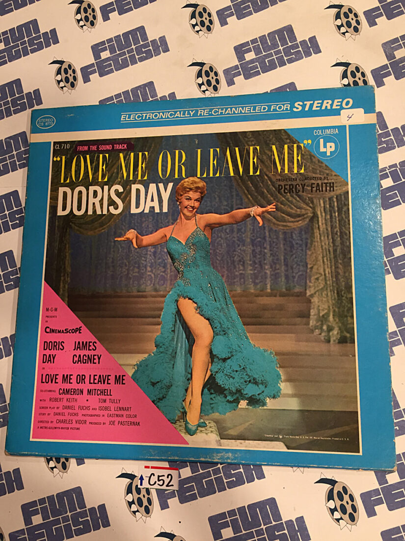 Doris Day Love Me or Leave Me Music from the Soundtrack Original Stereo Vinyl Edition (1955) [C52]