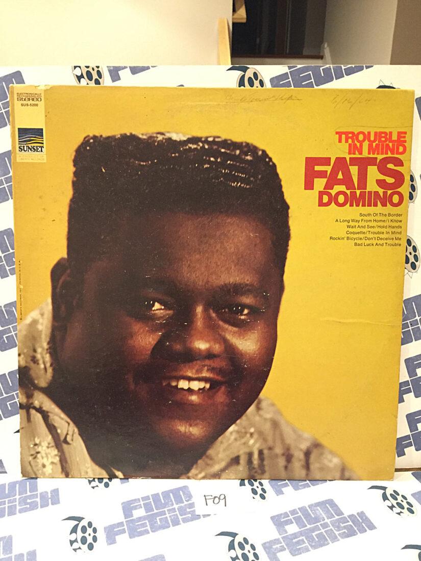 Fats Domino Trouble in Mind Original Vinyl Edition SUS-5200 [F09]