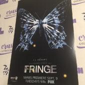 J.J. Abrams' Fringe TV Series Original 11×17 inch Promotional Poster (2008) [I22]