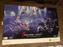 Gears of War 2 Comic-Con International 2008 Exclusive 36×24 inch Promotional Game Poster [D21]