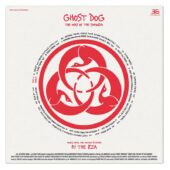 Ghost Dog: Way of the Samurai Original Soundtrack Deluxe Edition Vinyl by RZA
