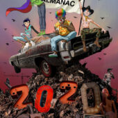 Gorillaz Almanac 2020 Hardcover Graphic Novel Edition