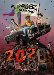 Gorillaz Almanac 2020 Hardcover Graphic Novel Edition