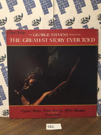 George Stevens' The Greatest Story Ever Told Original Motion Picture Soundtrack by Alfred Newman Vinyl Edition [E62]