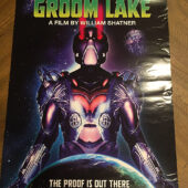 RARE Groom Lake Original 18×24 inch Promotional Movie Poster (2002) William Shatner [E05]