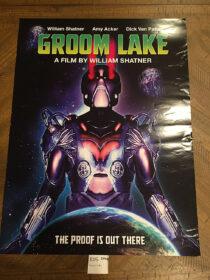 RARE Groom Lake Original 18×24 inch Promotional Movie Poster (2002) William Shatner [E05]