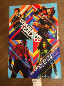 Guardians of the Galaxy Original IMAX 3D First Look 13×19 inch Promotional Movie Poster (2014) [D88]
