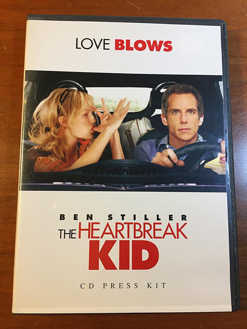 The Heartbreak Kid CD Press Kit Ben Stiller