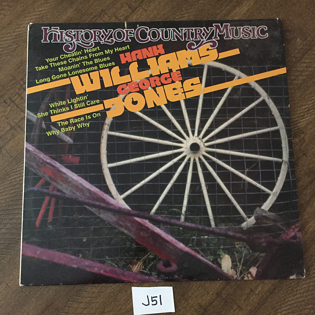 The History of Country Music: Hank Williams Jr. and George Jones (1981) [J51]