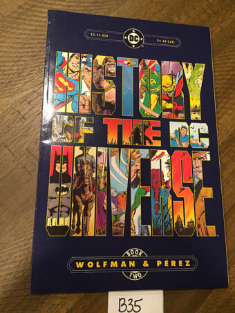 History of the DC Universe Book Two First Printing (1986) [B35]