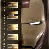 Iron Man Ultimate 2-Disc DVD Edition with Helmet Case [B69]