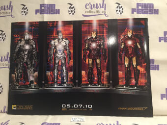 Iron Man 2 San Diego Comic Con 2009 Exclusive 20×13 inch Promotional Movie Poster [I14]