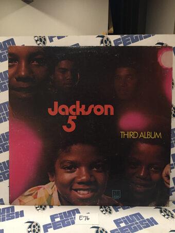 The Jackson Five Third Album Original Vinyl Edition + Motown Records Fan Club Insert (1970) [E76]