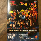 Jak and Daxter Trilogy: Jak II, Jak 3 DVD Movie PlayStation 2 [J78]