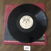 President John Fitzgerald Kennedy Memorial Tribute Original Vinyl Edition [J59]