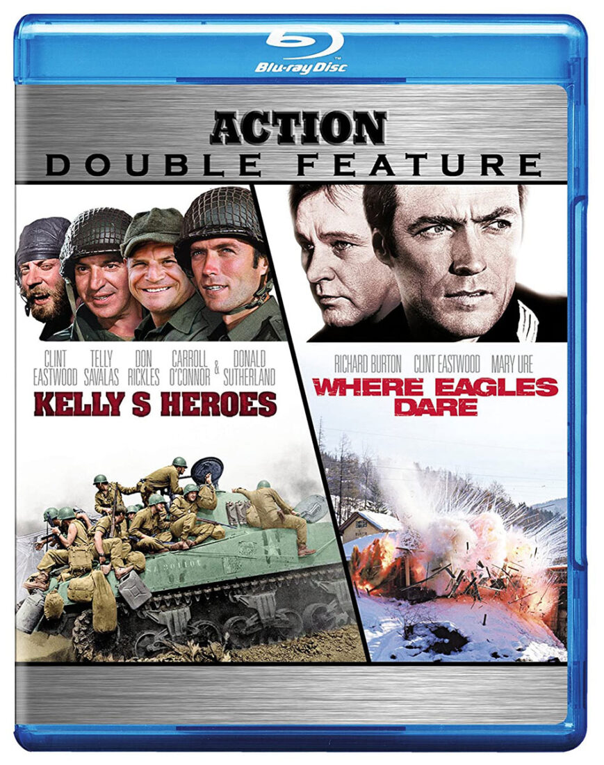 Kelly's Heroes / Where Eagles Dare Action Double Feature Blu-ray
