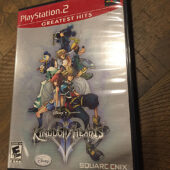 Kingdom Hearts II PlayStation 2 Greatest Hits with Manual [B59]