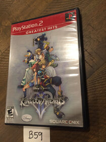 Kingdom Hearts II PlayStation 2 Greatest Hits with Manual [B59]