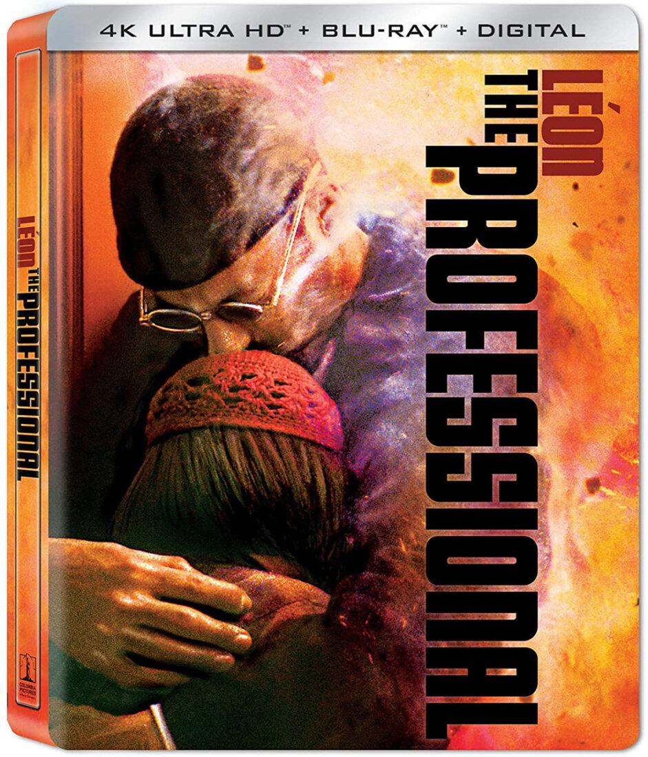 Leon The Professional 4K UHD + Blu-ray + Digital Combo Steelbook Limited Edition