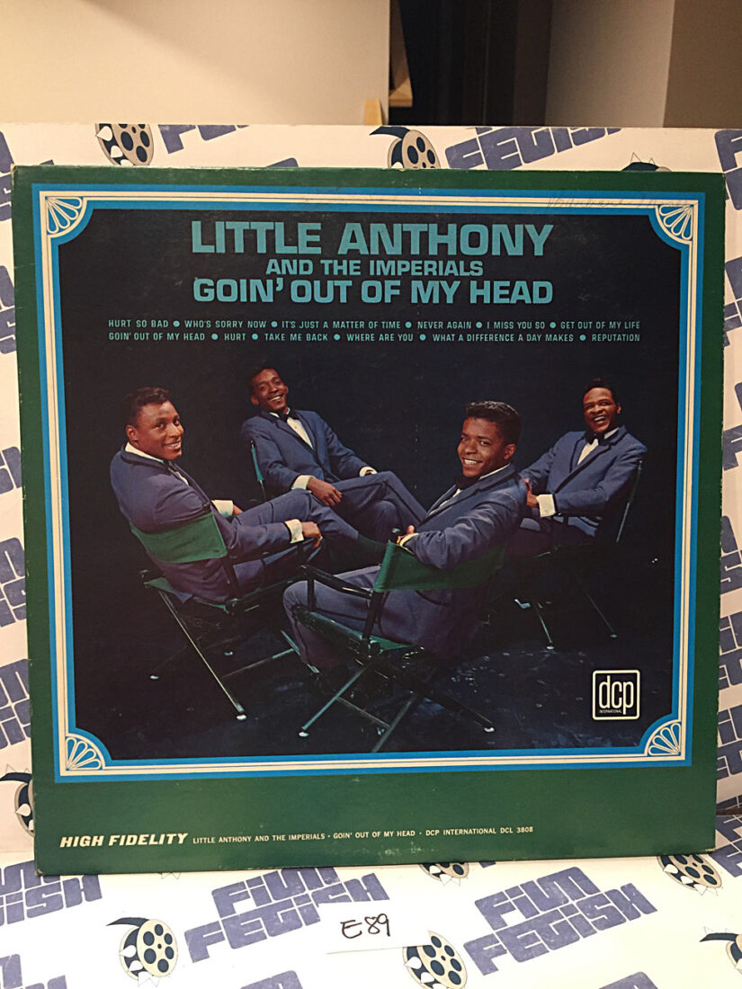 Little Anthony and the Imperials Goin' Out of my Head Vinyl Edition [E89]