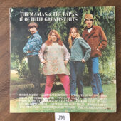 The Mamas and the Papas 16 of Their Greatest Hits Vinyl – California Dreamin' [J39]