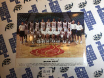 Miami Heat 1993-1994 Official Team 10×8 inch Publicity Photo [12105]