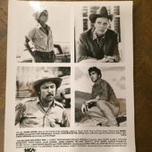 The Milagro Beanfield War Original 8×10 inch Press Photo (1988) Rubén Blades, Christopher Walken [B26]