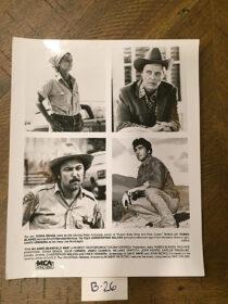 The Milagro Beanfield War Original 8×10 inch Press Photo (1988) Rubén Blades, Christopher Walken [B26]