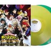 My Hero Academia: The Movie – Heroes Rising Original Motion Picture Soundtrack 2-LP Special Vinyl Edition