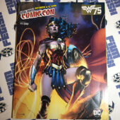 New York Comic Con 2016 Official Program Guide Wonder Woman Cover Art by Jim Lee DC Comics [12104]