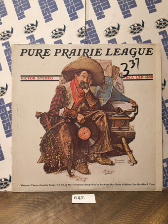 Pure Prairie League Stereo Vinyl LSP-4650, Norman Rockwell Cover Art [E42]