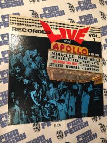 Recorded Live at the Apollo Theatre New York Volume 1 Motown Records Vinyl Edition (1963) [E30]