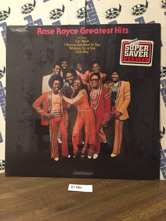 Rose Royce Greatest Hits Vinyl Edition – Car Wash, I Wanna Get Next to You, Wishing on a Star, Ooh Boy [E50]