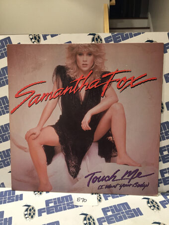 Samantha Fox Touch Me (I Want Your Body) 12 Inch Vinyl Single (1986) [E70]