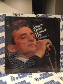 Johnny Cash Greatest Hits Volume 1 Vinyl – Ring of Fire, I Walk the Line [E85]