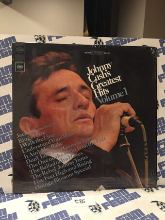Johnny Cash Greatest Hits Volume 1 Vinyl – Ring of Fire, I Walk the Line [E85]
