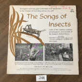 The Songs of Insects Vinyl Edition (1956) Calls of Common Crickets, Grasshoppers and Cicadas [J44]