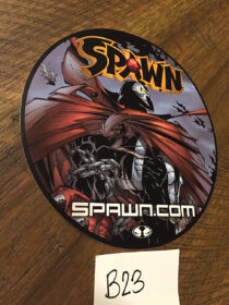 Spawn Comic Character Round 4 inch Promotional Sticker [B23]