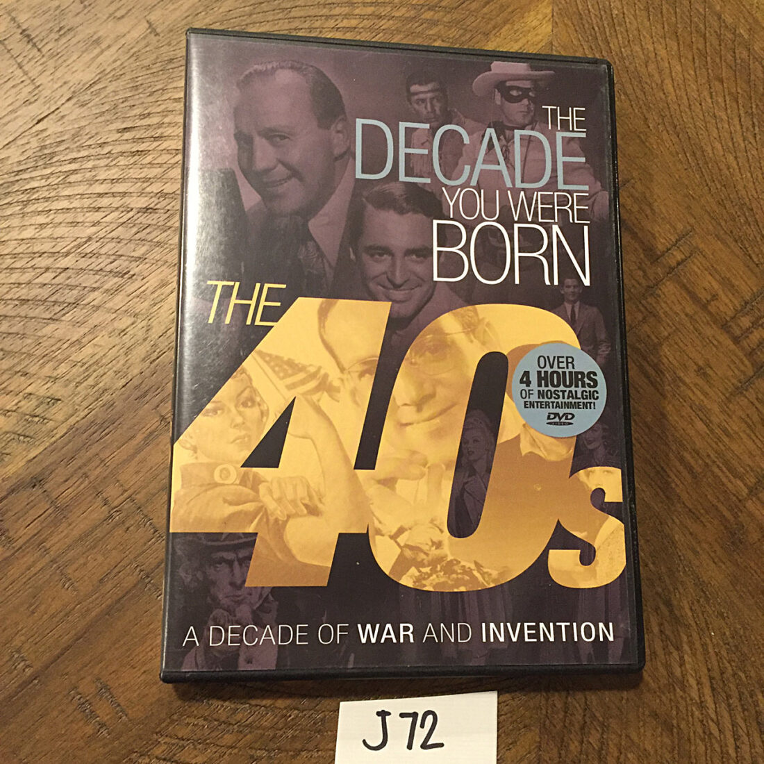 The Decade You Were Born: 1940s DVD Edition with Interactive Timeline (2012) [J72]