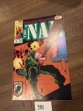 The Nam: Operation Chicken Lips Marvel Comic (Vol. 1, No. 71, August 1992) [B81]